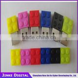 Factory direct sell Building Blocks Shaped high quality USB 128mb-64g USB wristband flash Drive juggle usb