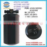 A/C Receiver Drier For John Deere Tractors 8110 Titan II 6622 / Cotton Pickers 9940 AT63170 AH114865 AT162848 AMX10156