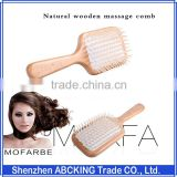 Natural Wooden Massage Comb Airbag Cushion Care Comb Massage Comb Scalp And Head Massage Relaxation