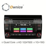 Ownice Android 4.4 car GPS video RADIO for Fiat Bravo 2012-2014 with GPS Navigation Stereo WIFI 3G Bluetooth DVD