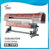 1.9m fabric TEXTILE COTTON tarpaulin eco solvent PC head desktop printer