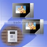 video door intercom and outdoot station with 2 buttons for calling 2 separated apartments