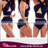 wholesale sexy japanese swimwear ladies new design two-pieces brazilian swimwear summer elegant beach sexy swimwear Image