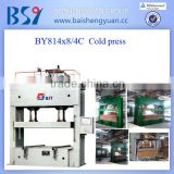 BY814 * 8/4C Plywood machine/cold press machine