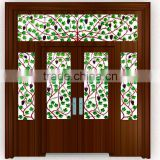 continuous Grape designed style used wrought iron door gates/iron door gate and main gate designs