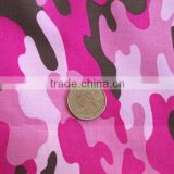 pink camouflage fabric, print canvas fabric 100 cotton 21/2*10 72*40 8oz cheap canvas fabric for shoes