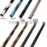 Factory wholesale 3/4-pc snooker cue case patchwork leather billiard pool cue case / bag