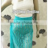 2014 african swiss keqiao shaoxing chemical New Design thick Polyester Embroidery Lace Fabric for garments