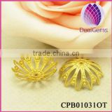 Wholesale Brass End Filigree Dome Bead Caps Jewelry Findings