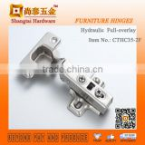 CTHC35-2F soft closing hydraulic clip on piano hinge lowes