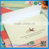 Custom Printed Colors Gift Envelope,Paper Envelope For Body Temporary Tattoo Stickers