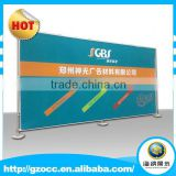 custom factory large advertising adjustable trade show exhibition booth aluminum backdrop banner stand for sales promotion