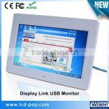 10 inch Plastic Case mini extend copy Mirror Extend LCD screen usb powered monitor open frame