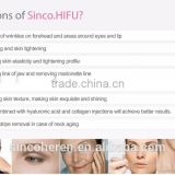 sincoheren High Quality Hifu Face Lifting And Skin Tightening /hifu for wrinkle removal system