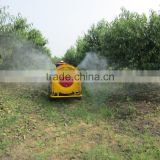 trailer model tractor use farm garden fruit tree orchard vineyard boom tank air blast sprayer with high press diaphragm pump