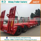 Inexpensive Best Lowboy Trailers For Construction Machinery Low Bed Trailer Dimensions In India
