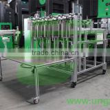 Standard Austrian Advanced Technology Full-Automatic Aluminum Container Production Stacker Collecting Machines(UNST-6010-80T)