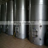 High quality stainless steel wine dimple cooling fermenters
