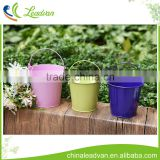 french home decorate mini 5 quart color easter wholesale galvanized metal flower buckets