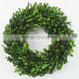 Everyday Natural artificial preserved boxwood wreath