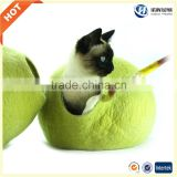 Amazon hot sale wool felt cat bed from china factory