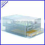 3 tier metal mesh a4 cabinet file tray document tray