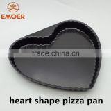 heart shape oval pizza pan