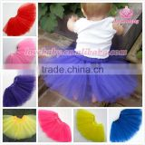 Wholesale 2014 latest fashion puffy cute kids tulle skirt