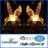 cixi landsign plastic+stainless steel material XLTD-722A Amorphous solar powered led stick light