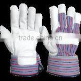 "10.5"" Cow Split Leather Full Palm Working Gloves"
