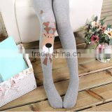 Opaque Fashion Children Tight coloured cotton leggings