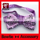 Low price OEM gift customized men's bow tie