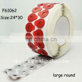 Blocking Pad,lens edging pads,more adhesive,good quality,MOQ 1 roll(24*30 large round)