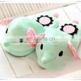 OEM lovely elephant plush slippers