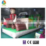 Cow Boy Theme Inflatable Obstacles Course, Obstacle Combo For Sale