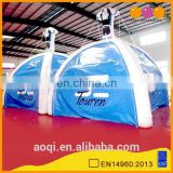 2015 new design the twins sealed inflatable tent for camping