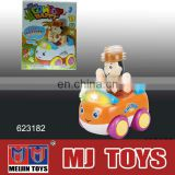 battery operated mini toy cars with light and music