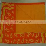 100 % Cotton Pareo with Towel attached