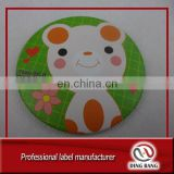 Wholesale Stock Cheap Custom Made Advertising Round Lovely Catoon Small Pocket Tin Mirror