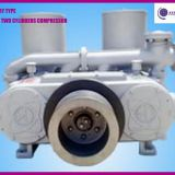 12cbm stationary type two cylinders cement silo compressor for bulk cement