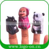 2017 sedex audit factory popular plastic custom animal finger puppet