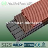 Swimming pool wpc floor decking with anti-slip