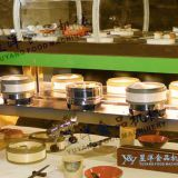 Dim Sum Conveyor Belt Buffet Equipment Customized Automatic Hot Pot Rotary