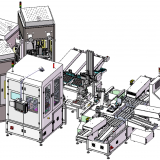 Automatic Cosmetics Labelling & Dispensing line (Liquid & Powder)