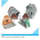 Top quality DT04-3P DT04-3S waterproof male female electrical automootive deutsch connector 3 pin