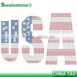 1012C Fashion America stud transfer, China metal octagon America transfer stud, wholesale stud transfer America