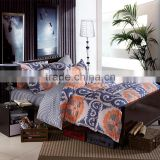 China textile floral printed American style bedding sets OEM cotton home useful duvet cover