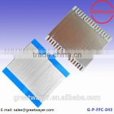 16pin pitch 2.54mm awm shielded lvds ffc cable