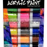Best Selling 24*20ml Non-toxic Wholesale Acrylic Paint Sets