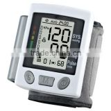 cheap electric automatic wrist blood pressure monitor EA-BP61W with CE mark